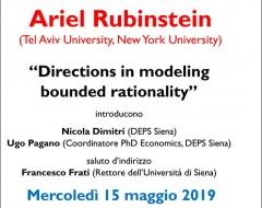 2019 Hahn Lecture - quinta edizione
