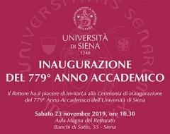 Inaugurazione del 779° anno accademico