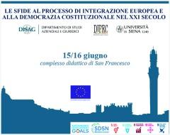 Le sfide al processo di integrazione europea e alla democrazia costituzionale nel XXI secolo