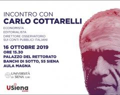 Incontro con Carlo Cottarelli