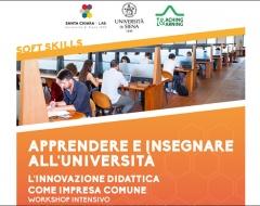 """Workshop per docenti """"Apprendere e insegnare all'università"""""""