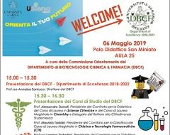 Open Day dipartimento di Biotecnologie, chimica e farmacia
