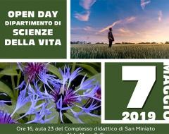 Open Day dipartimento Scienze della Vita