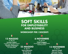 Soft skills for employability and business - workshop per docenti