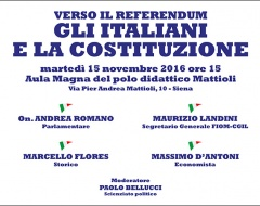Verso il referendum. Gli italiani e la Costituzione