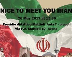 """""""Nice to Meet You, Iran"""""""