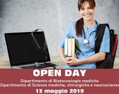 Open Day dei dipartimenti di Biotecnologie mediche e di Scienze mediche, chirurgiche e neuroscienze
