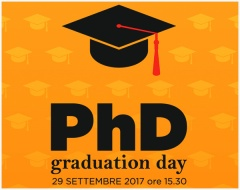 29 settembre - PhD Graduation Day