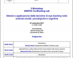 I Workshop DISPOC Co-Working Lab