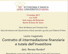 lectio magistralis Renato Rordorf