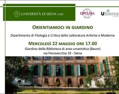 Open Day del dipartimento di Filologia e critica delle letterature antiche e moderne