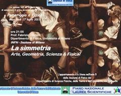 """Conferenza """"La Simmetria: Arte, Geometria, Scienza & Fisica"""""""