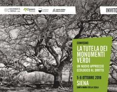 """Convegno """"La tutela dei monumenti verdi"""""""