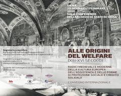 Alle origini del welfare (XIII-XVI secolo)