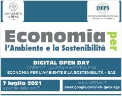 Open Day: laurea magistrale in Economia per l'ambiente e la sostenibilità