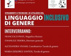 Strumenti e tecniche del linguaggio inclusivo di genere