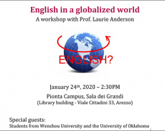 "Arezzo: workshop ""English in a globalized world"""