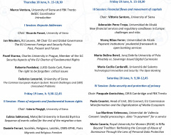 """Convegno """"Boosting European Security Law and Policy"""""""