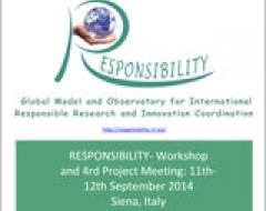 thumb RESPONSIBILITY‐ Workshop and 4rd Project Meeting