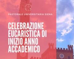 celebrazione eucaristica di inizio anno accademico dell'Università di Siena.