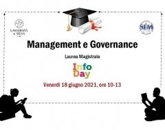 InfoDay per il corso di laurea magistrale in Management e Governance