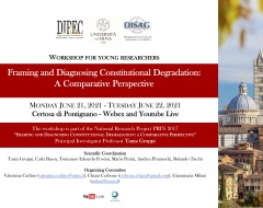 """Workshop """"Framing and Diagnosing Constitutional Degradation: A Comparative Perspective"""""""