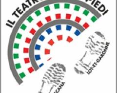 """Logo """"Il Teatro... su 2 piedi"""""""
