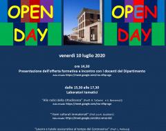 Digital Open Day - Dipartimento di Giurisprudenza