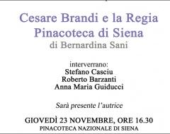 Presentazione libro su Cesare Brandi