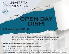 Open Day dipartimento di Scienze politiche e internazionali