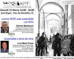 Giornata inaugurale del corso di Sostenibilità