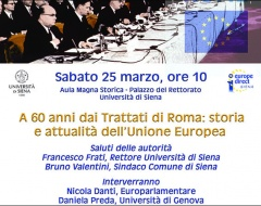 evento Europe Direct Trattati di Roma