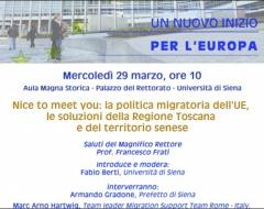 La politica migratoria nell'Ue