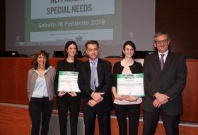 Premio Listerine 2018: premiazione studentessa Università di Siena