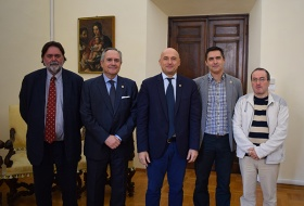 Incontro con delegazione dell'Universidad de Sevilla