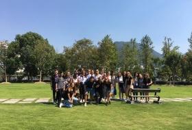 13 studenti del corso di laurea in Lingue in Cina
