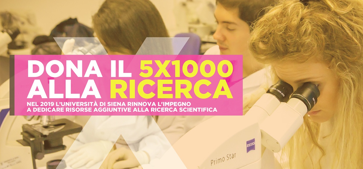 5x1000 2019 - Università di Siena