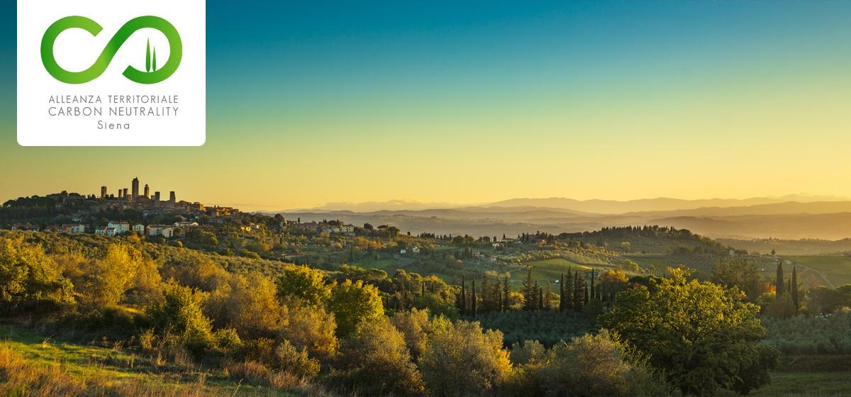 """Sapevate che la Provincia di Siena è """"Carbon Neutral""""?"""