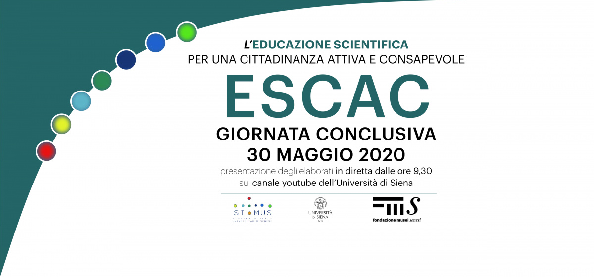 30 maggio: giornata conclusiva del progetto ESCAC