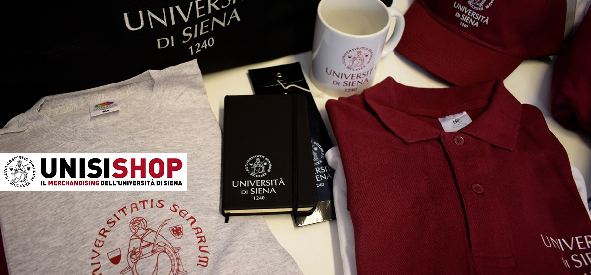 Unisishop - Il merchandising dell'Università di Siena