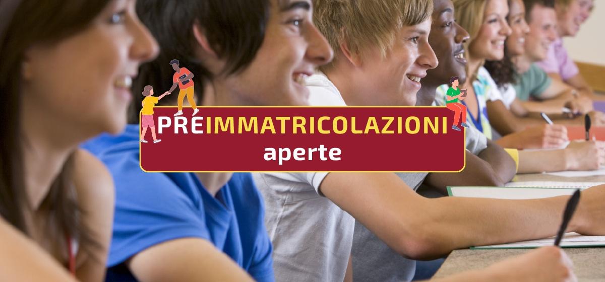 Preimmatricolazioni a.a. 2021-2022
