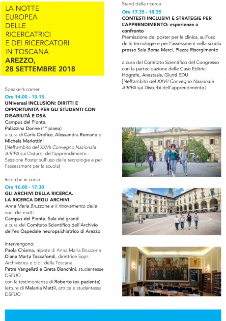 Bright 2018 ad Arezzo