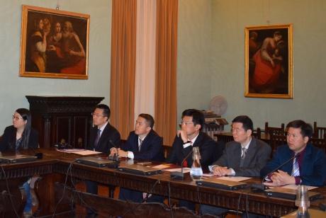 Delegazione dello Zhujiang Hospital in visita all'Università di Siena