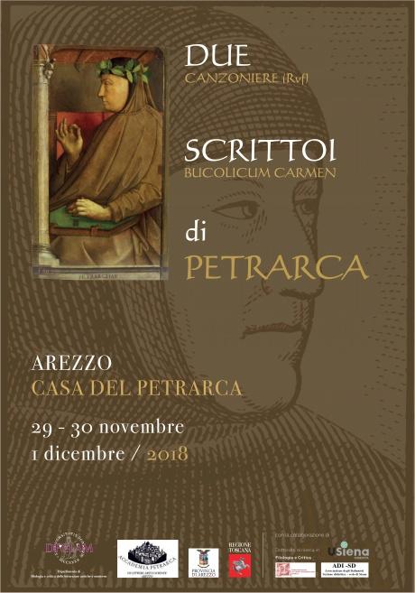 """convegno """"Due scrittoi di Petrarca"""""""