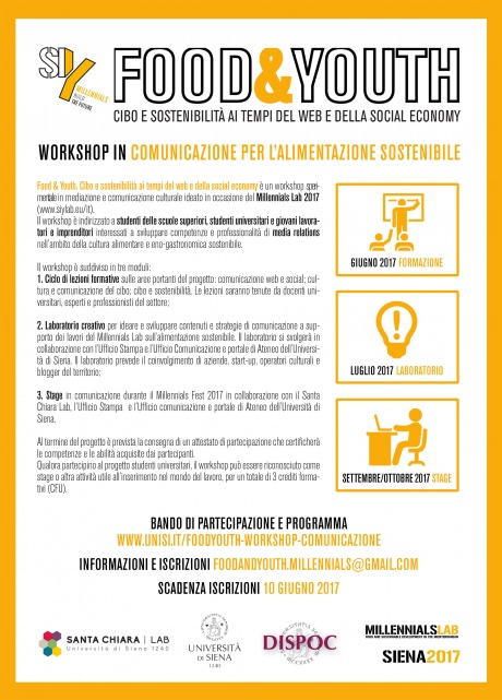 Workshop in comunicazione per l'alimentazione sostenibile