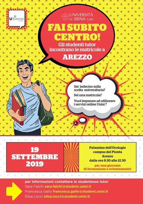 """Arezzo: """"Fai subito centro!"""""""