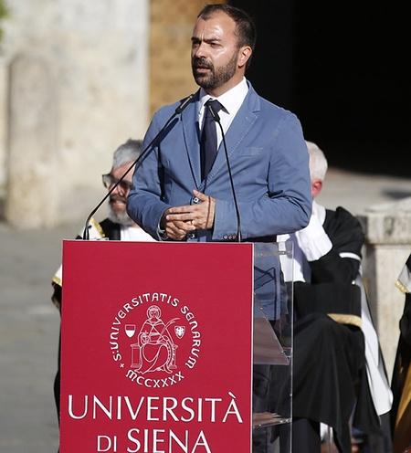 On. Lorenzo Fioramonti,  Ministro dell'Istruzione, dell'Università e della Ricerca