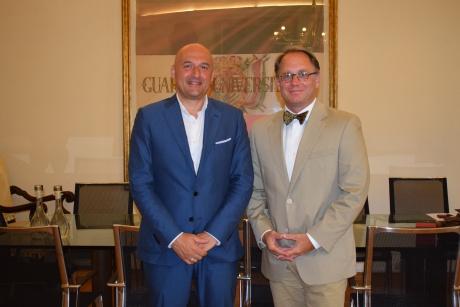 Il rettore incontra il presidente dello Iona College