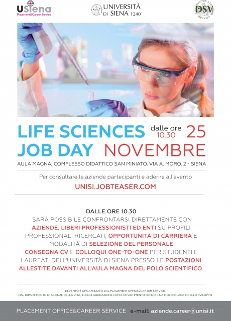 Life Sciences Job Day