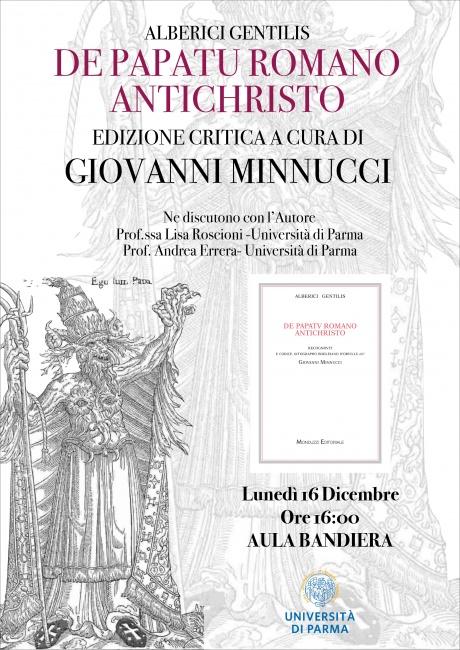 """Presentazione dell'edizione critica """"De papatu Romano Antichristo"""""""